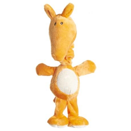 Best Pet Bungee Tug Kangaroo Dog Toy in Orange
