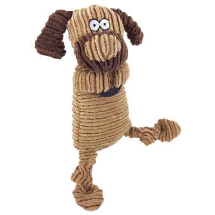 Best Pet Corduroy Animal Dog Toy in Huggie Dog - Closeouts