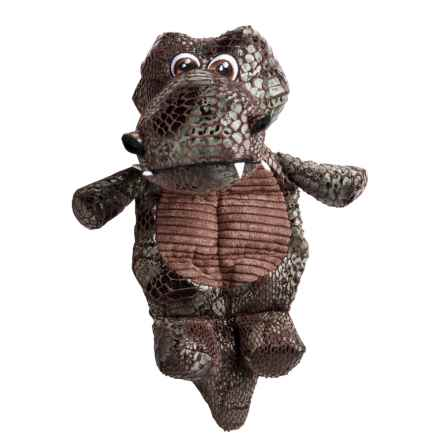 Best Pet Dinosaur Squeaker Dog Toy in Crocosaur - Closeouts