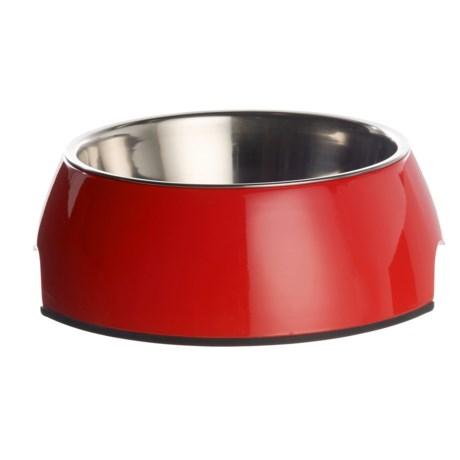 Best Pet Dog Bowl - Large, 23.6 oz. in Red