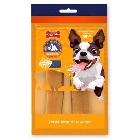 Best Pet Himalayan Mountain Cheese Dog Chews - Large, 2-Pack in See Photo