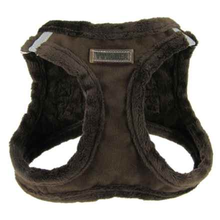Best Pet Microsuede Dog Harness in Chocolate - Closeouts