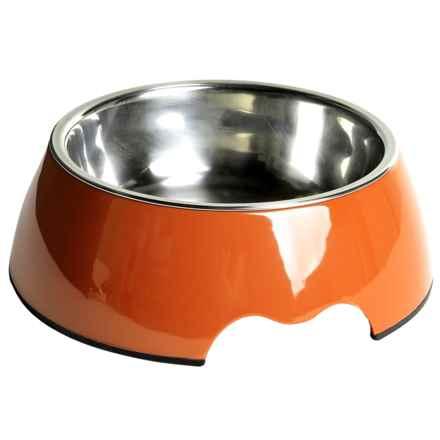Best Pet Single Pet Bowl - Large, 23.6 oz. in Orange - Closeouts