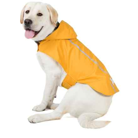 Best Pet Voyager Reflective Rain Coat for Dogs in Yellow - Closeouts