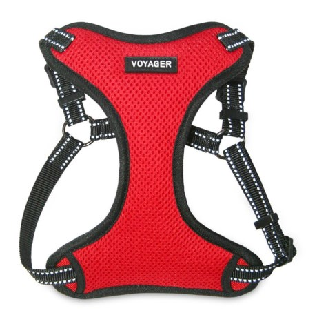 Best Pet Voyager Step-In Harness - 3M Scotchlite® in Red