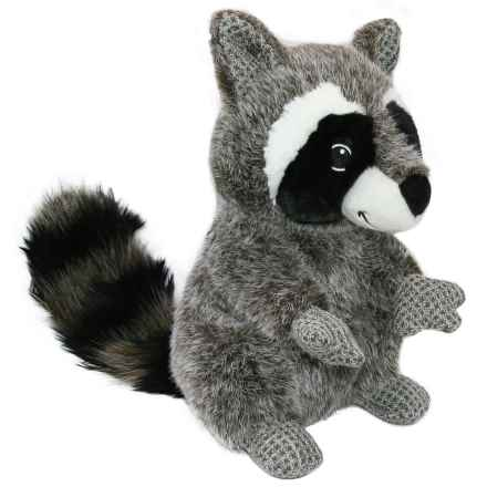 Best Pet Woodland Critters Raccoon Dog Toy - Squeaker in Grey - Closeouts