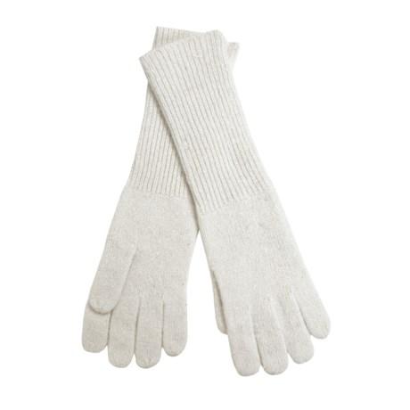 Betmar Angora Gloves - Extra Long (For Women)