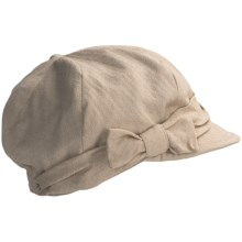 Betmar Bow Cap (For Women) in Tan - Closeouts