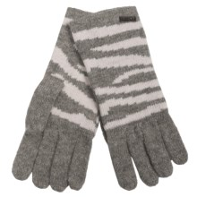 Betmar Bowery Stripe Gloves (For Women) in Grey Heather - Closeouts