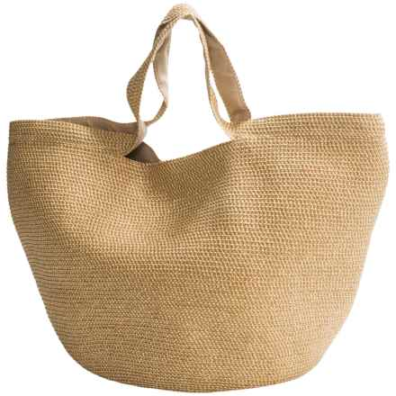 Betmar Braid Shopping Tote Bag (For Women) in Natural - Closeouts
