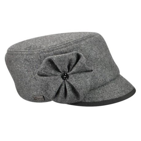 bae358e56aa04 Betmar Cameron Woven Cap (For Women) in Heather Grey