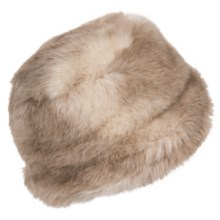 Betmar Cervinia Faux-Fur Bucket Hat (For Women) in Fox - Closeouts
