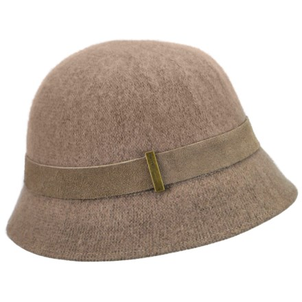 Betmar Cloche Bucket Hat (For Women) in Mink - Closeouts 29b6e6ecdc9f
