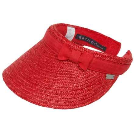 Betmar Dunewood Visor (For Women) in Red - Closeouts