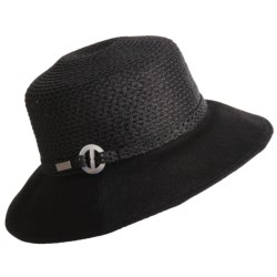 Betmar English Rose Hat - UPF 50+ (For Women) in Black
