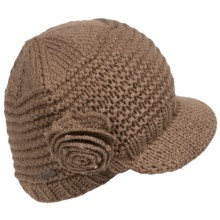 Betmar Flower Cap (For Women) in Mink - Closeouts