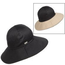 Betmar Gemma Reversible Sun Hat - UPF 50+ (For Women) in Black/Khaki - Closeouts