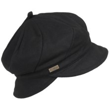 Betmar Hawthorne Newsboy Hat (For Women) in Black - Closeouts
