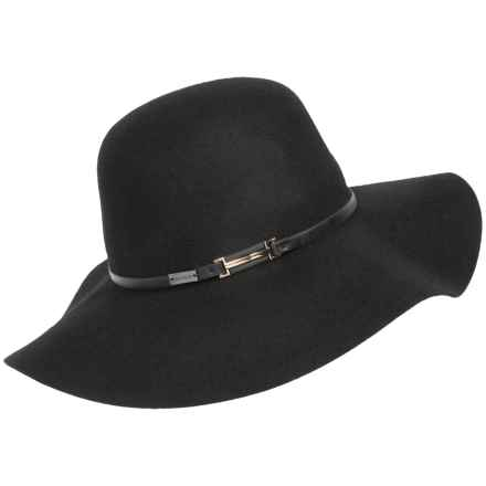 Betmar Joan Hat - Wool (For Women) in Black - Overstock