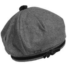 Betmar Karina Wool Beret (For Women) in Charcoal Heather - Closeouts