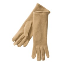 Betmar Longer Fleece Gloves (For Women) in Camel - Closeouts