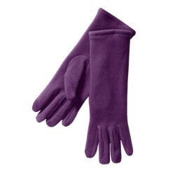 Betmar Longer Fleece Gloves (For Women) in Purple Passion