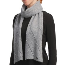 Betmar Madison Luxe Knit Scarf - Sequinned (For Women) in Heather - Closeouts