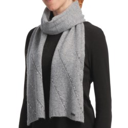 Betmar Madison Luxe Knit Scarf - Sequinned (For Women) in Heather