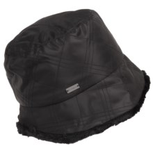 Betmar Malachite Quilted Bucket Hat (For Women) in Black - Closeouts