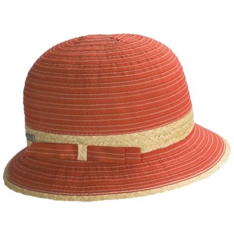 Betmar Miami Heat Lincoln Road Hat (For Women) in Tangerine