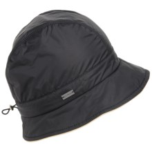Betmar Nanette Rain Hat - Insulated (For Women) in Black - Overstock