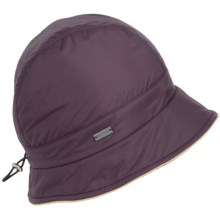 Betmar Nanette Rain Hat - Insulated (For Women) in Plum - Overstock