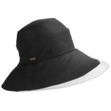 Betmar Pastoral Romance Delphinium Hat - UPF 50+ (For Women) in Black - Closeouts
