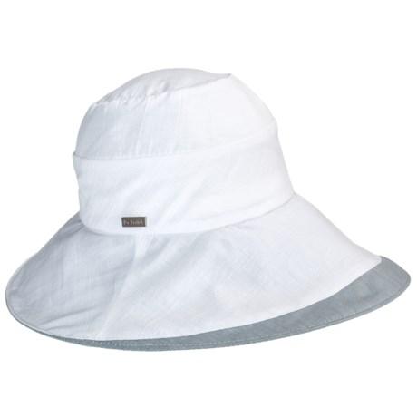 Betmar Pastoral Romance Delphinium Hat - UPF 50+ (For Women) in White