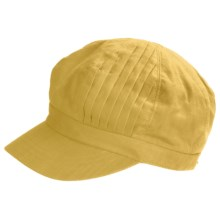 Betmar Pleated-Crown Cap (For Women) in Buttercup - Closeouts