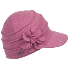 Betmar Ridge Flower Cap (For Women) in Dusty Rose - Closeouts