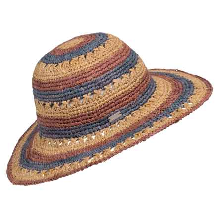 Betmar Violet Sun Hat (For Women) in Rose Multi - Closeouts