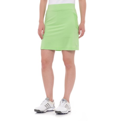 Bette & Court Cool Elements Cypress Golf Skirt - UPF 50, Built-In Liner (For Women) in Apple