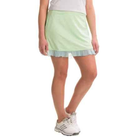 Bette & Court Flip Skort - UPF 50, Built-In Shorts (For Women) in Mint - Closeouts