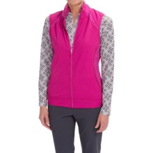 Bette & Court Recover Hybrid Vest (For Women) in Sangria - Closeouts