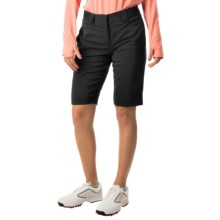 Bette & Court Reva Solid High-Performance Shorts - UPF 30+ (For Women) in Black - Closeouts