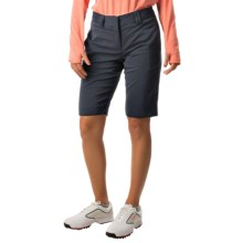 Bette & Court Reva Solid High-Performance Shorts - UPF 30+ (For Women) in Pacific - Closeouts