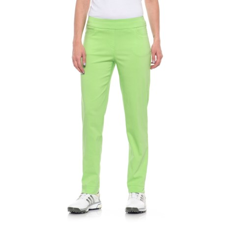Bette & Court Slimsation Golf Ankle Pants (For Women) in Apple