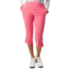 Bette & Court Smooth Fit Capris (For Women) in Pink Passion - Closeouts