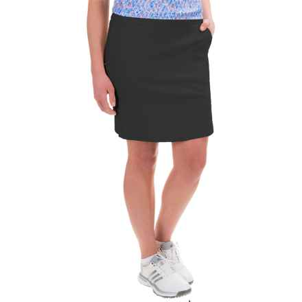 Bette & Court Stretch-Woven Skort (For Women) in Black - Closeouts