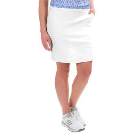 Bette & Court Stretch-Woven Skort (For Women) in White - Closeouts