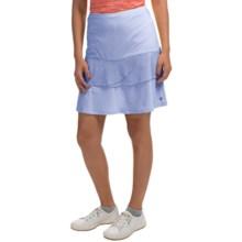 Bette & Court Swing Skirt - UPF 30+, Built-in Shorts (For Women) in Cornflower - Closeouts