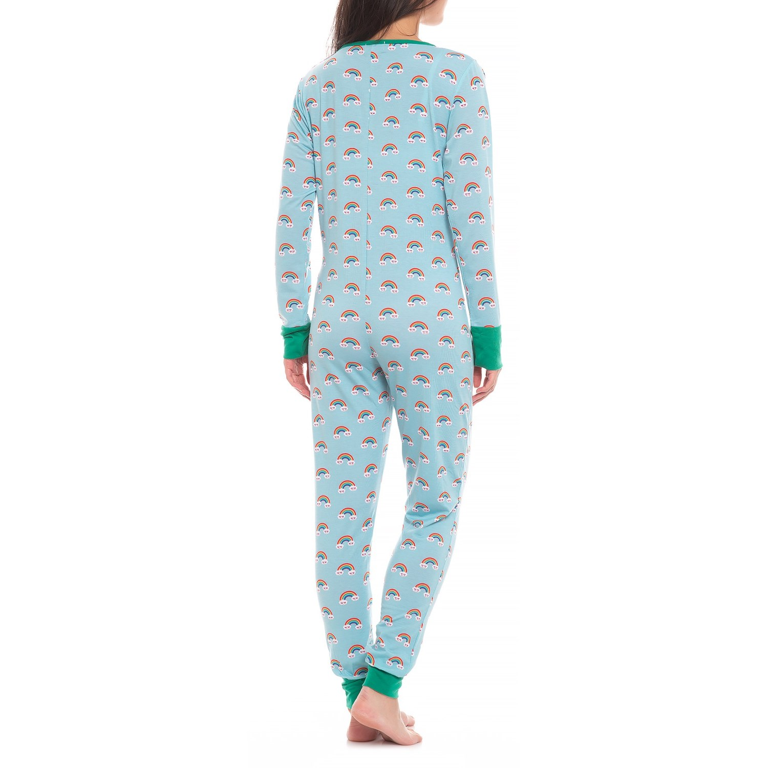 ee75441428 ... 538YX 2 BHPJ by BedHead Soft Knit Button Front Onesie - Long Sleeve  (For Women)