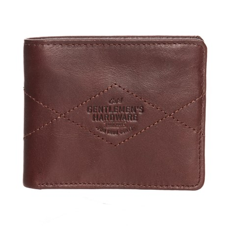 Image of Bi-Fold Leather Wallet (For Men)