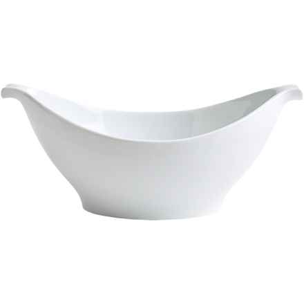 BIA Cordon Bleu Longboat Serving Bowl - Porcelain, 16 oz. in White - Closeouts